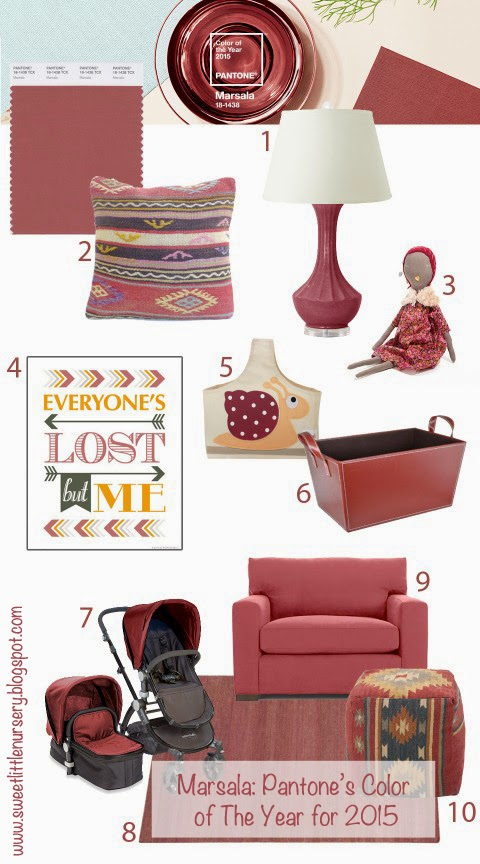 Marsala: Pantone's Color of the Year for 2015