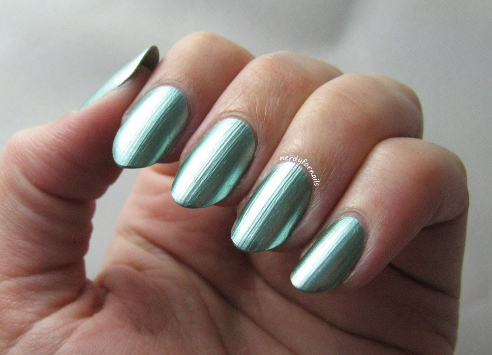 Sally Hansen Color Foil Minted Metal Swatch