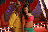 Anjali Hot Navel show Photos Madha Gaja Raja Movie