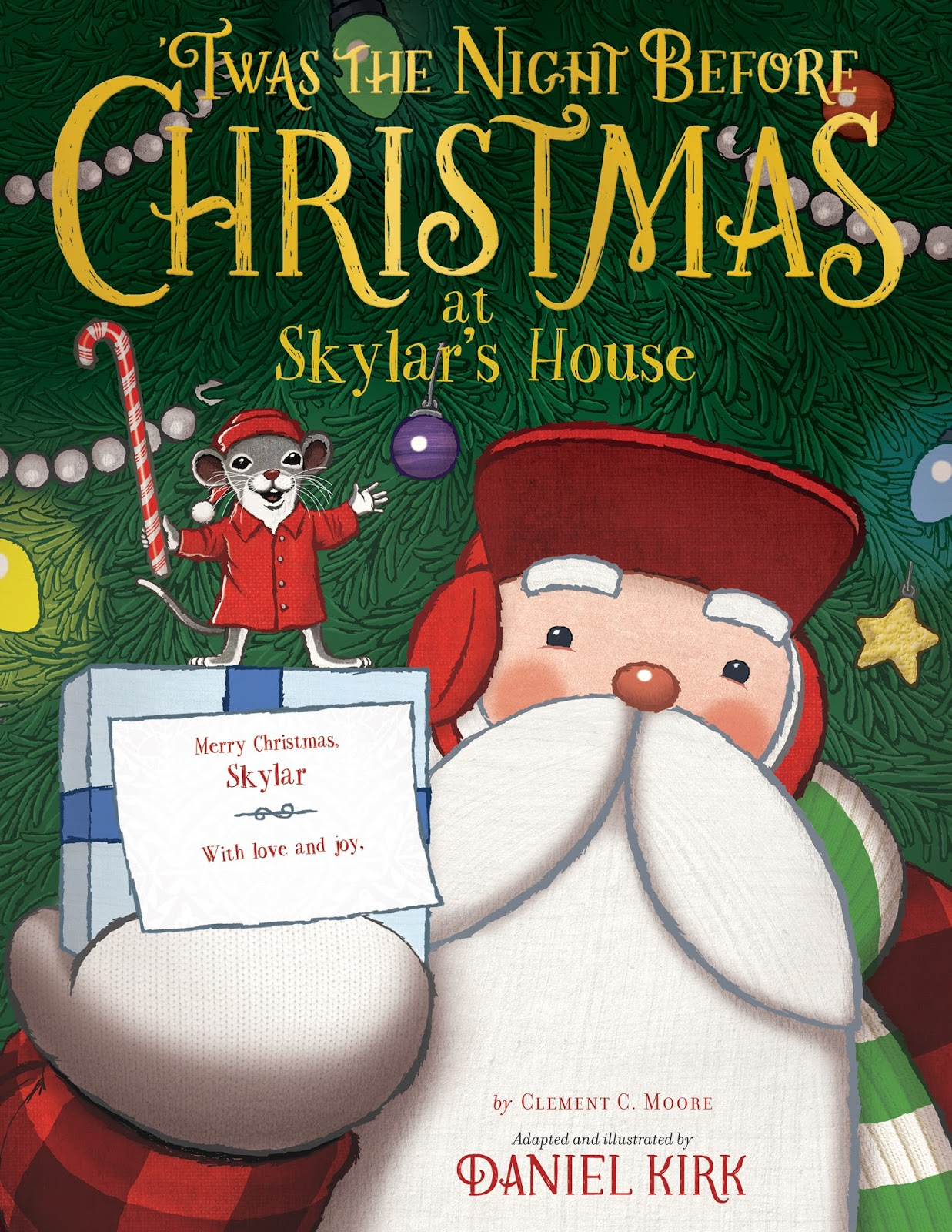 in bed with books review twas the night before christmas with