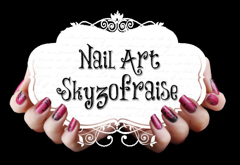 Nail Art Skyzofraise