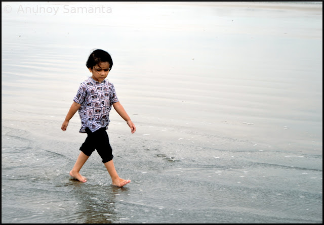 Tajpur Beachscape - the Moody Princess
