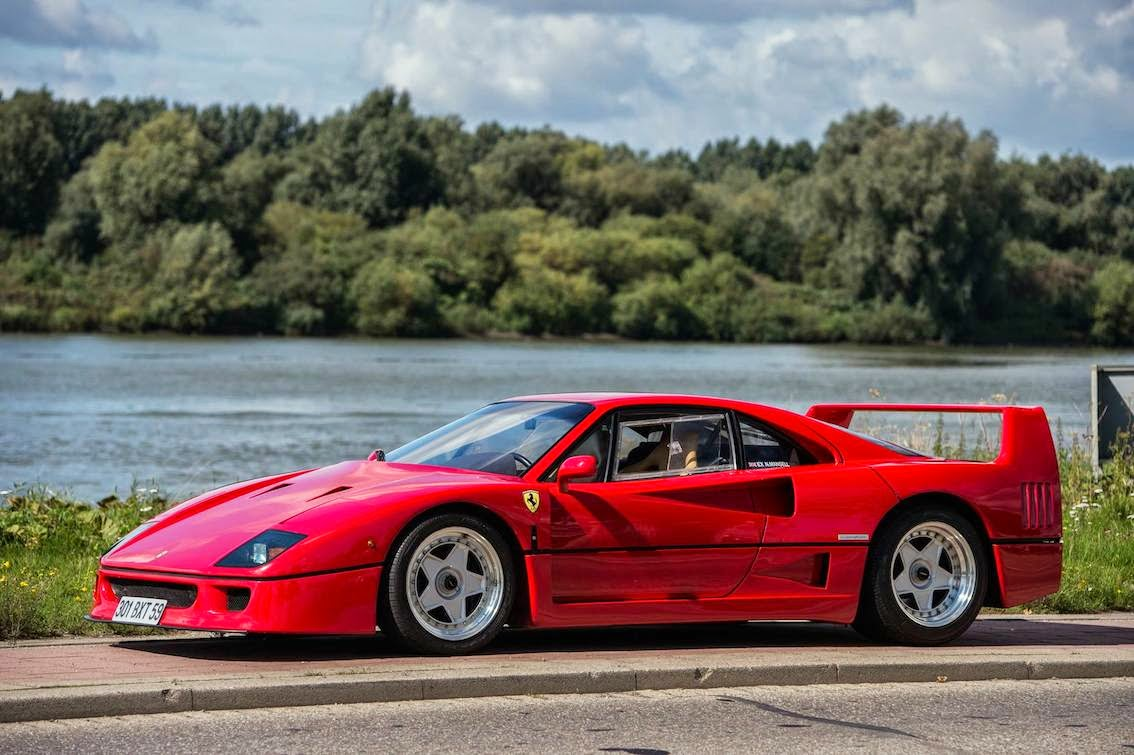 Fab wheels digest fwd ferrari f40 1987 92 from 1989 on 10 copies of the more powerful f40 competizione and a handful of f40 lms varients were made for racing purposes wikipedia vanachro Choice Image