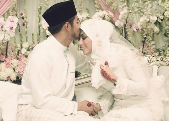 Foto Nikah Fizo Omar Dengan Mawar Karim