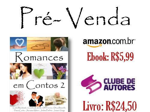 Pré-venda do livro Romance em conto 2