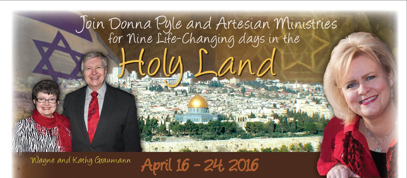 HOLY LAND TOUR with DONNA PYLE