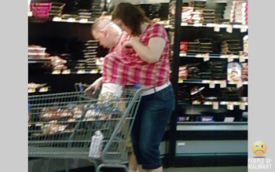 breast feeding at walmart