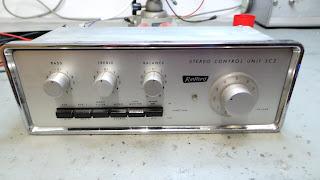 Radford SC2 Control unit & pre-amplifier.