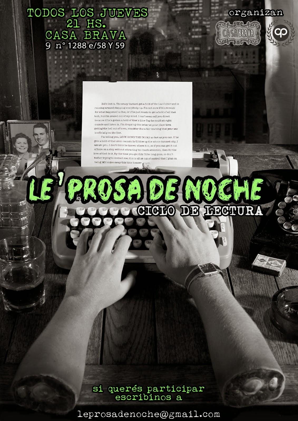 LE' PROSA DE NOCHE