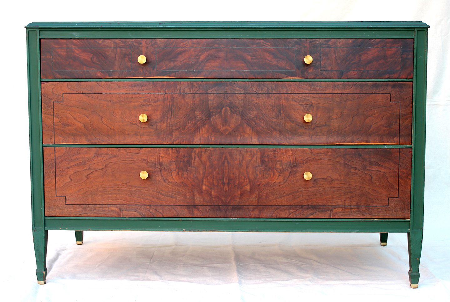 Antique Sligh Furniture Company low dresser - SOLD - Lets.rebuild.: Antique Sligh Furniture Company Low Dresser - SOLD