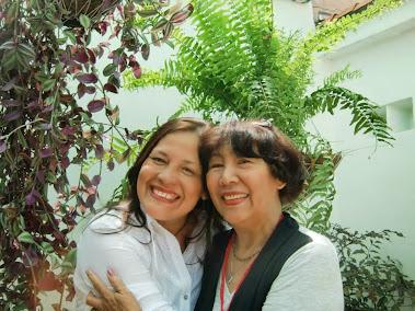 Con mi Tía Alfonsina mayo 2013