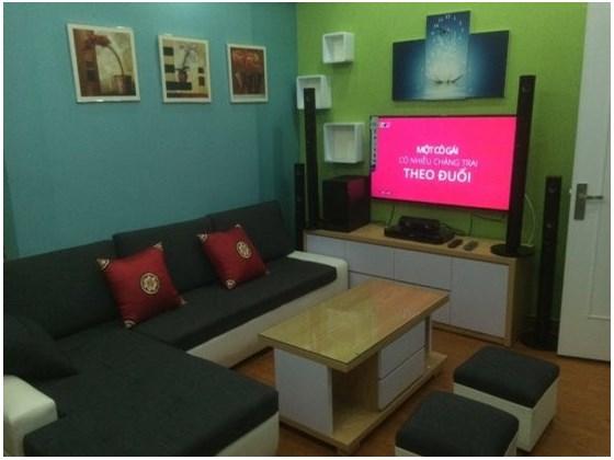 chung cư mini Trần Bình có nội thất hiện đại