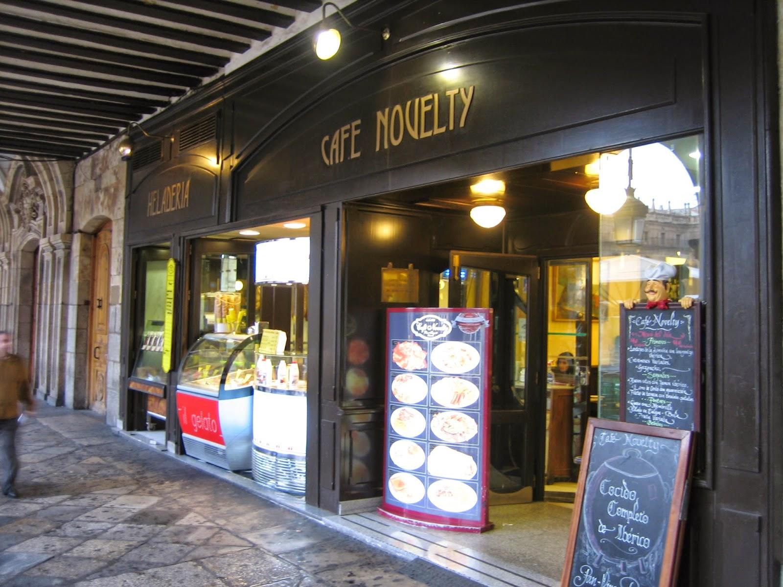 Café Novelty Salamanca