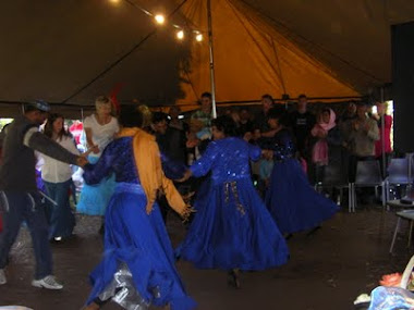 Dancing in the tent - Sukkot