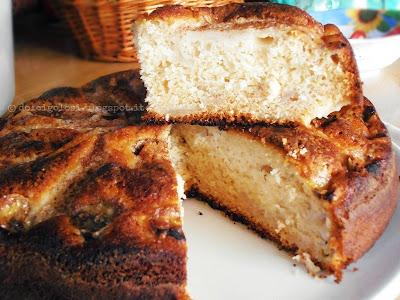 Dolci golosità: Torta pere e banane
