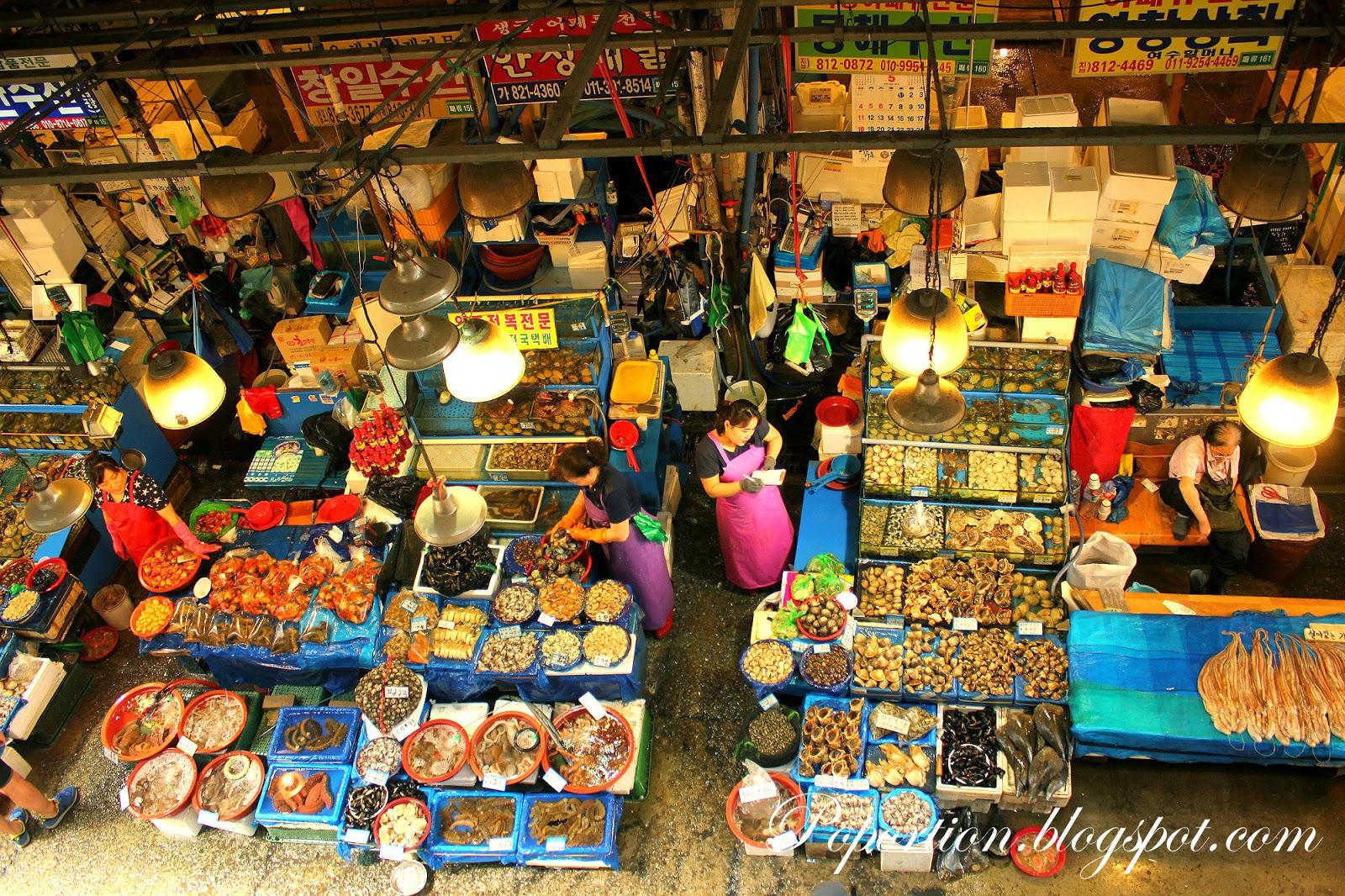 korea where to eat seafood
