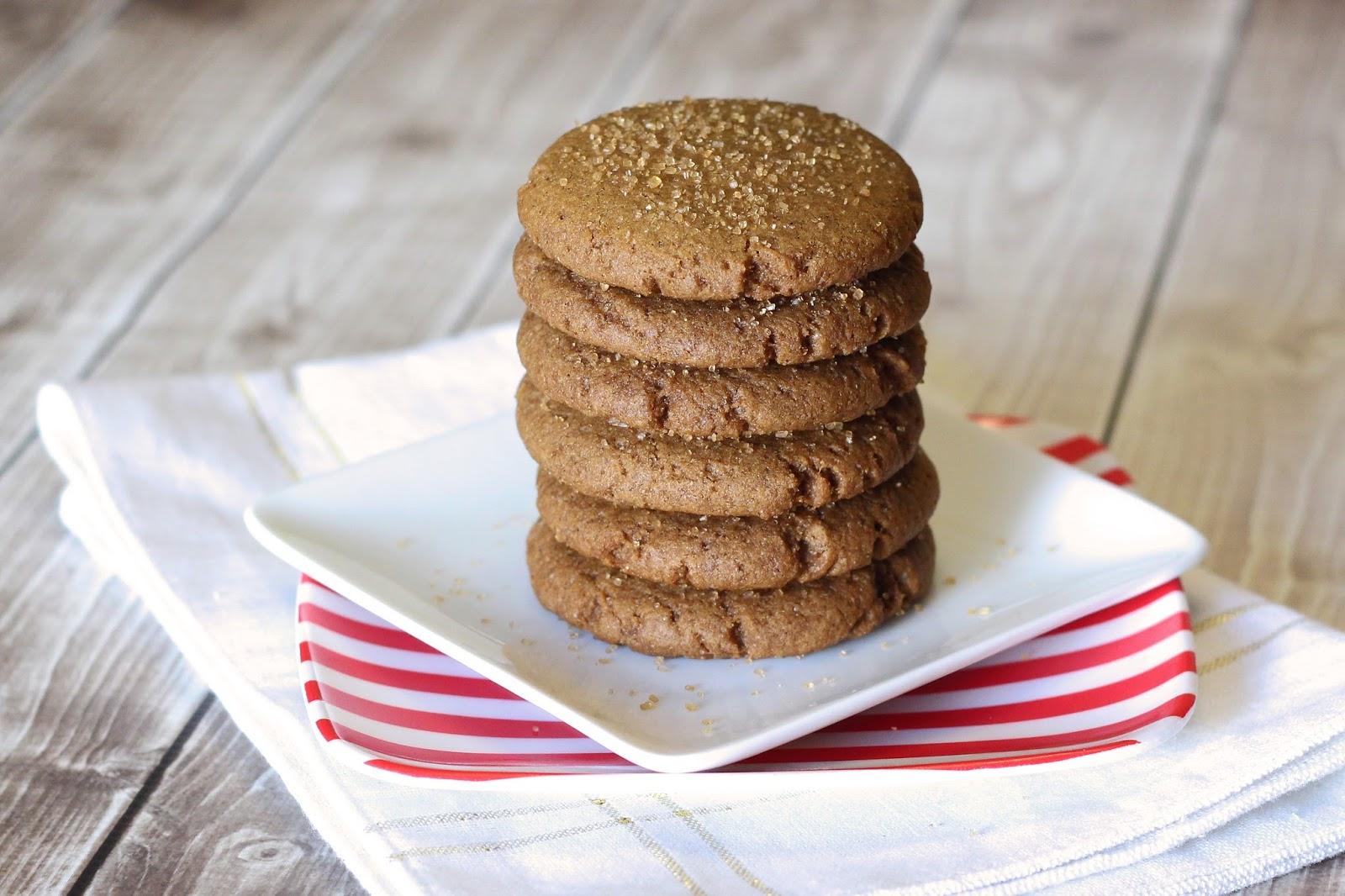 ... Bakes Gluten Free Treats: gluten free vegan soft gingersnap cookies