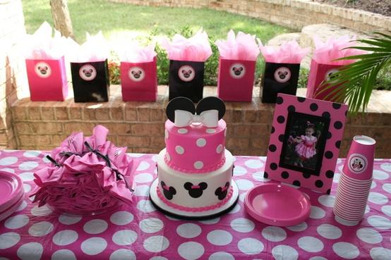 Decoraci n de fiestas infantiles de minnie mouse arcos for Decoracion de minnie mouse
