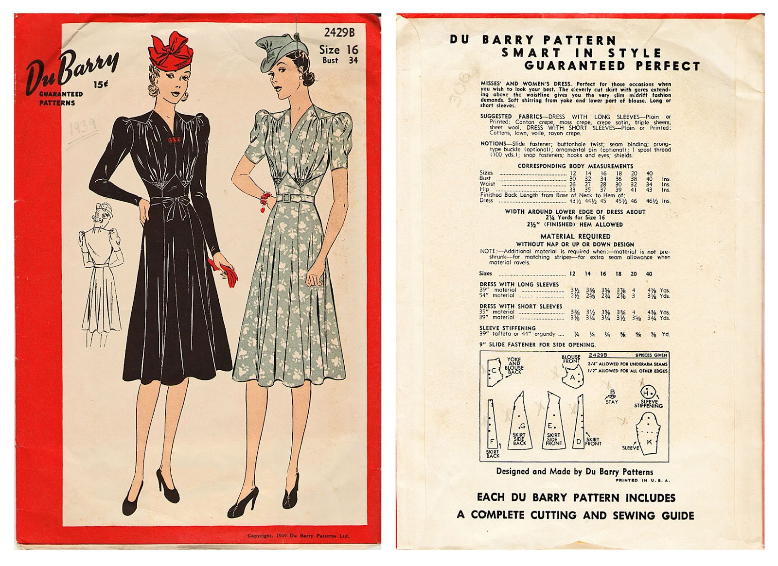 Acting My (Vint)Age: Pattern Archive