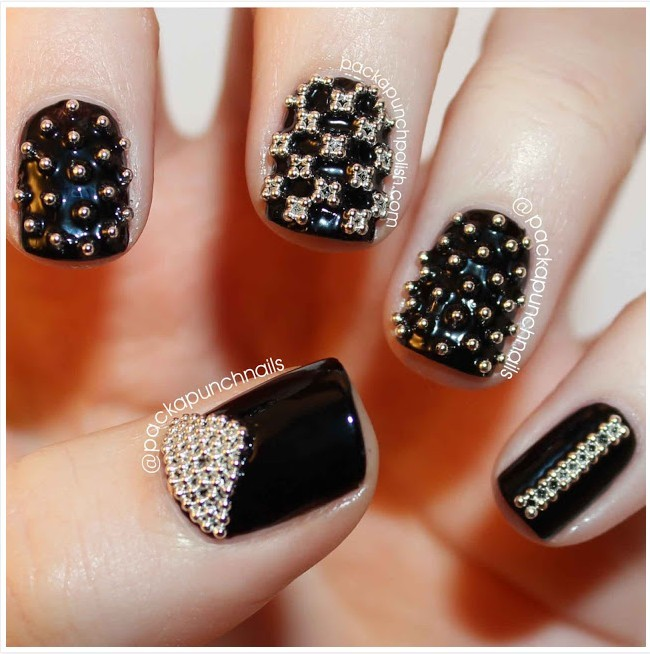 Nail Art Studs And Spikes - kitharingtonweb