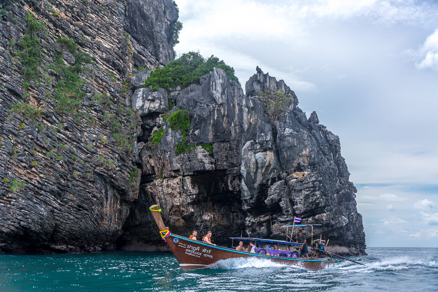Around the island of Phi Phi
