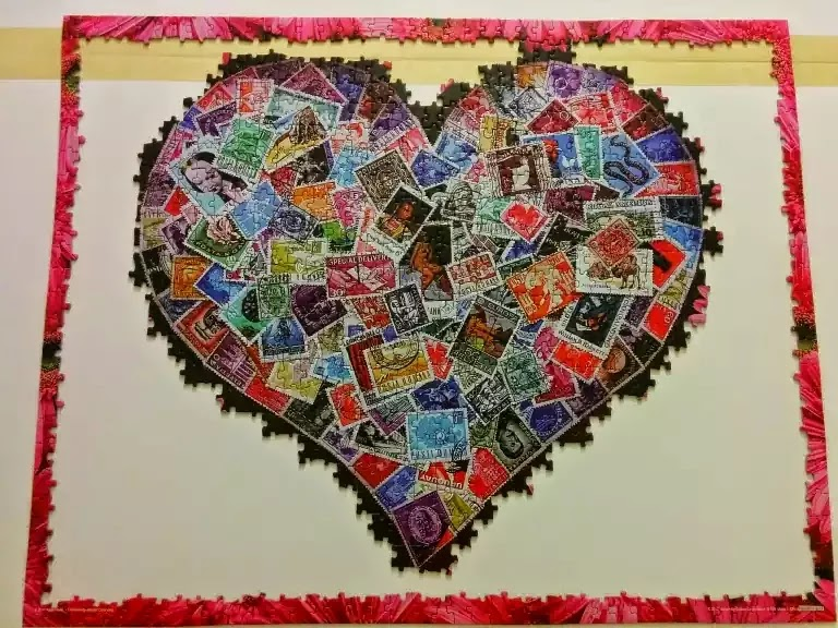 University Games Madalene's Hearts 1000 piece jigsaw puzzle