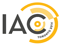 Logo konferencji IAC Toronto 2014