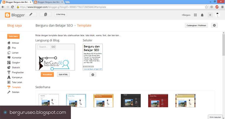 Cara Desain Template Blog dengan Pagination gambar 2