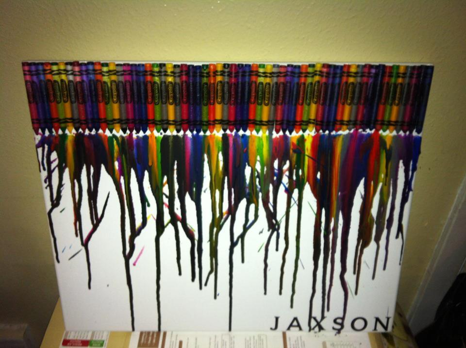 wax paper and crayon art car interior design. Black Bedroom Furniture Sets. Home Design Ideas