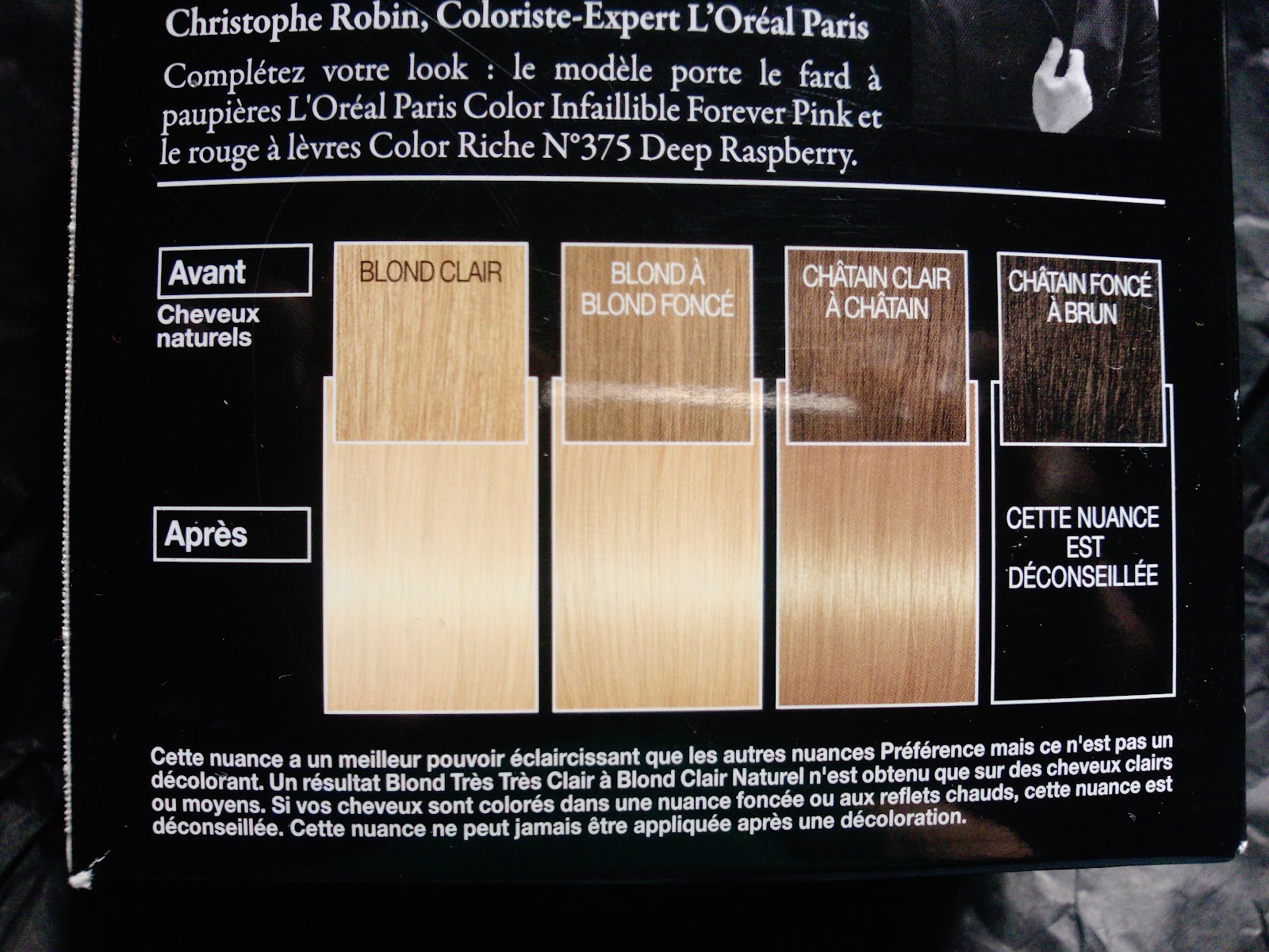 Coloration cheveux supermarche