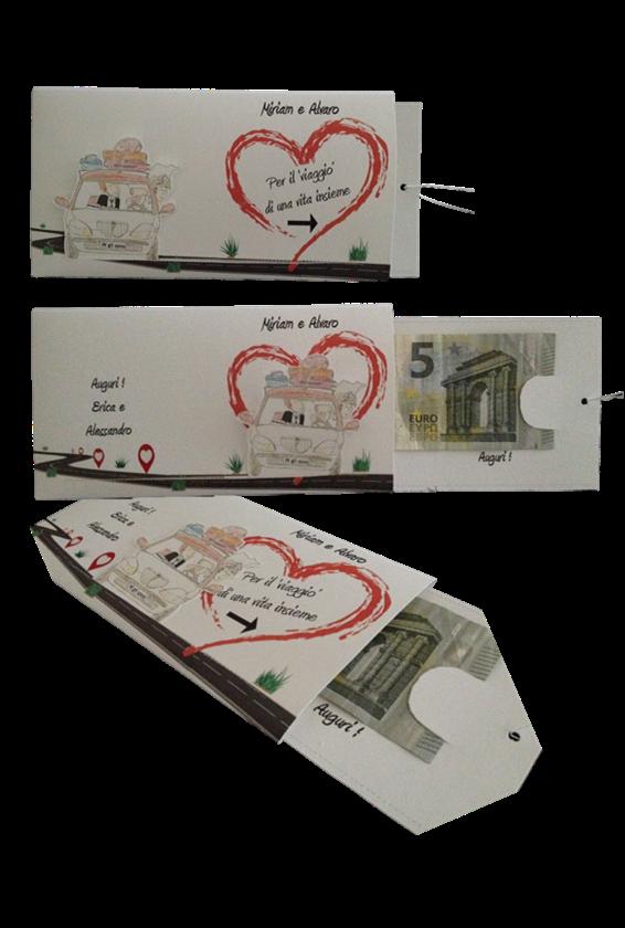 scivolabigliettini porta soldi