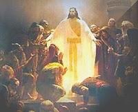 A primeira aparição de Jesus aos seus discípulos