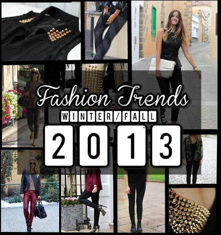 Fashion Trends 2013. Invierno 2013, Moda 2013