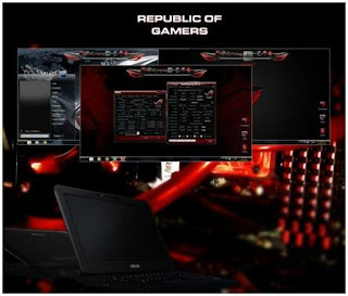 Republic Of Gamers ROG 2012 Edition Theme For Windows 7