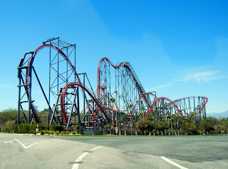 The Goliath Ride at Magic Mountain Six Flags