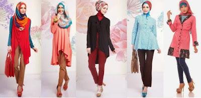 baju tunik muslim online