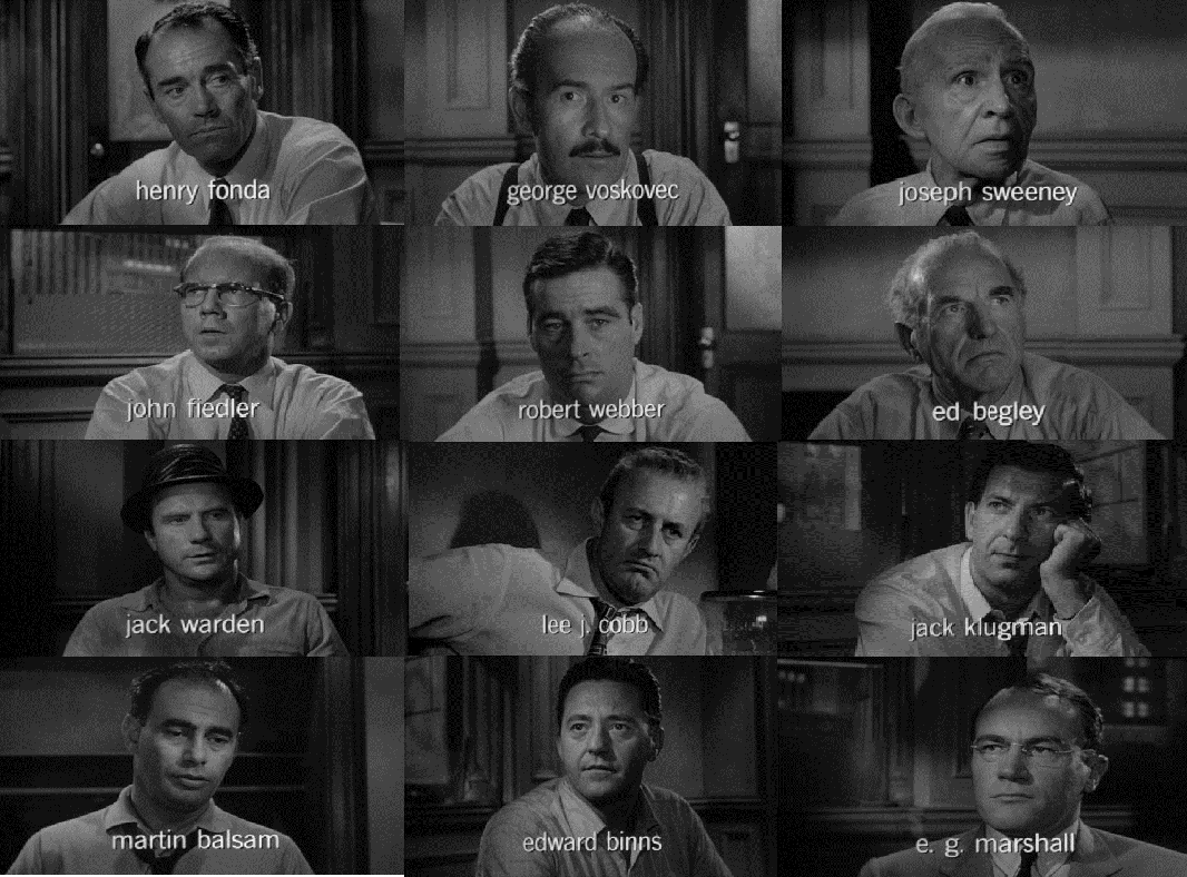Literary devices 12 angry men