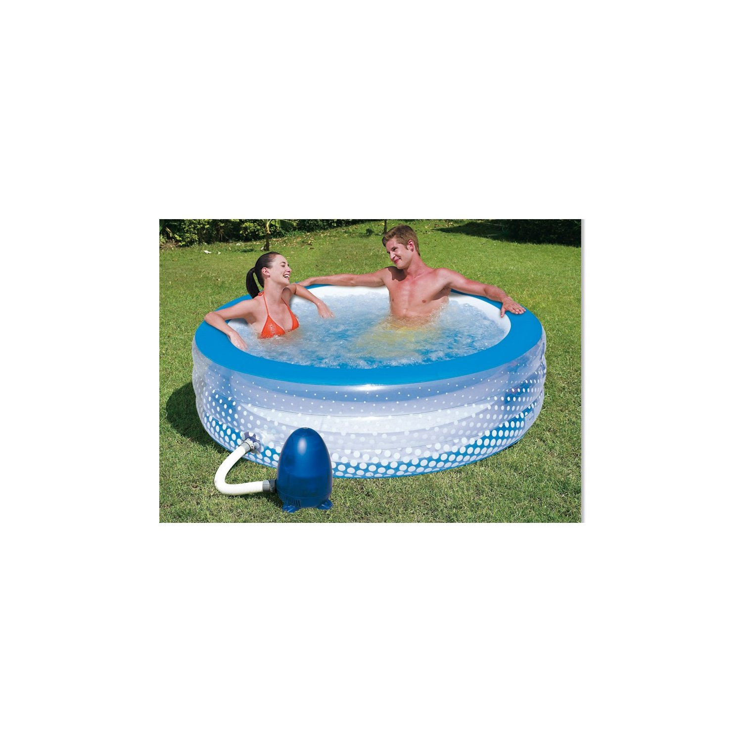 schwimmb der und whirlpools bestway relax bubble pool eco. Black Bedroom Furniture Sets. Home Design Ideas
