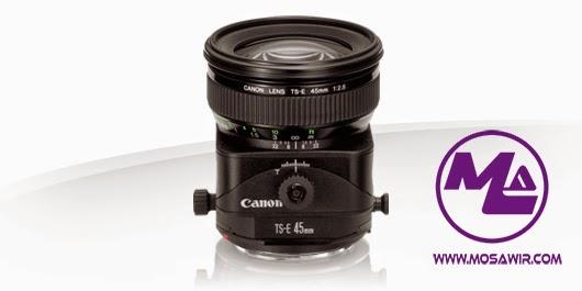 عدسة كانون: TS-E 45mm f/2.8
