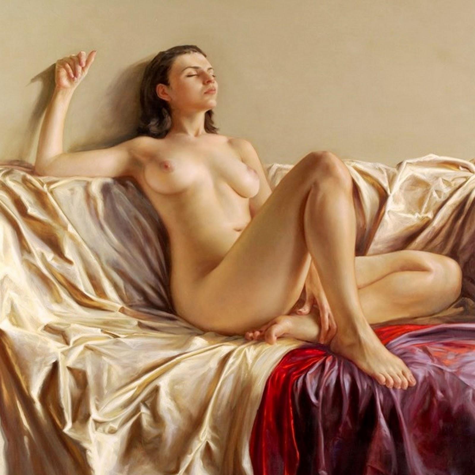 Desnudos Mujer Oleos