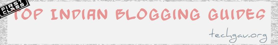 Top Indian Blogging Guides