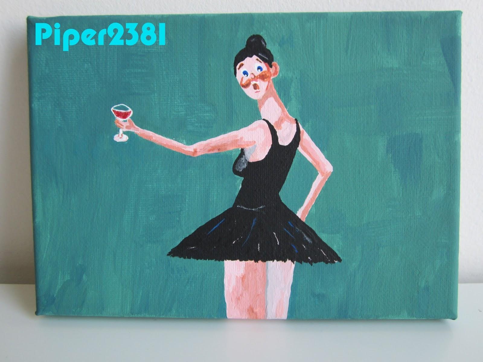George Condo Ballerina Painting