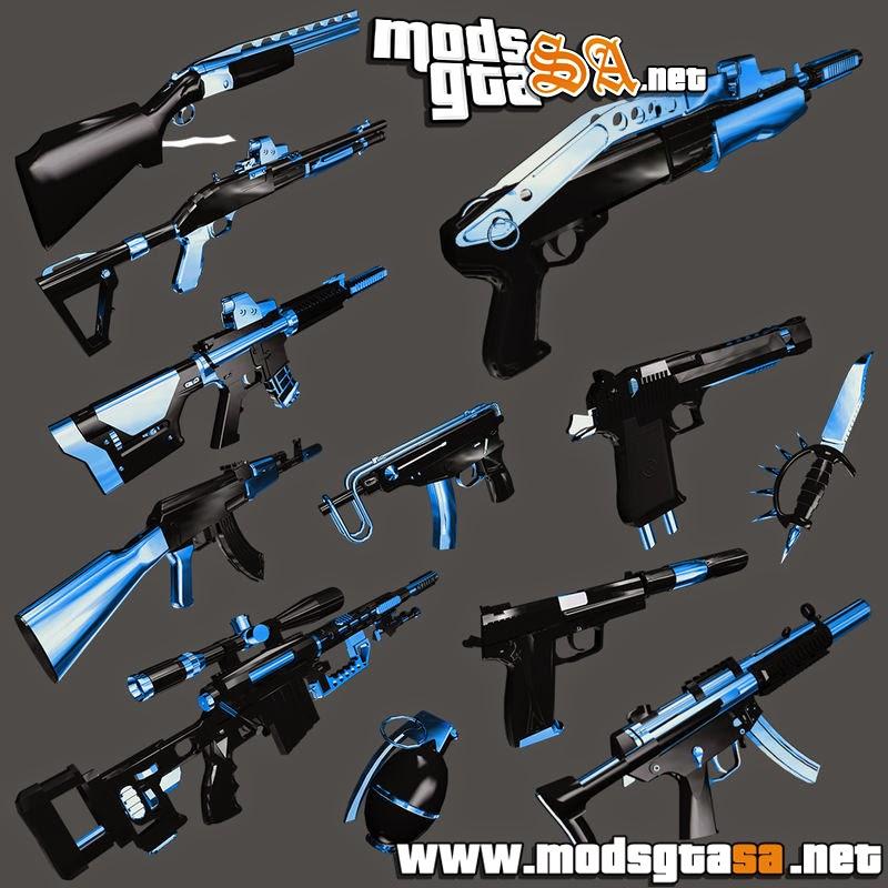SA - Pack de Armas Fulmicotone v1