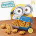 Batatas Minions Grátis no McDonald's pelos próximos 6 dias!