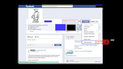 Salah satu nya cara menghapus teman di facebook , jika memiliki cara