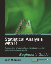 R Beginner&#8217;s Guide Book Update: Statistical Analysis with R Released