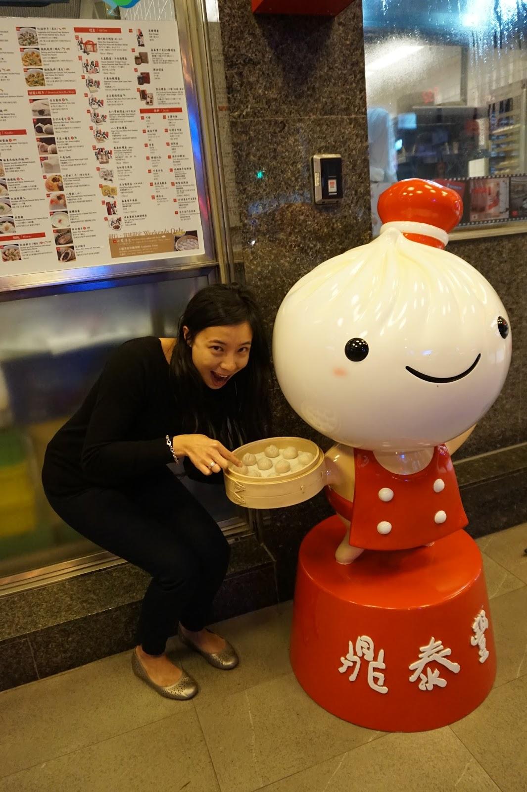 Din Tai Fung restaurant Xinyi Road Taipei Taiwan dumplings xiao long bao