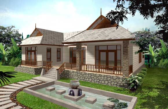 Beautiful single storey home plans