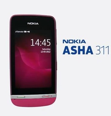 New Nokia Asha 311