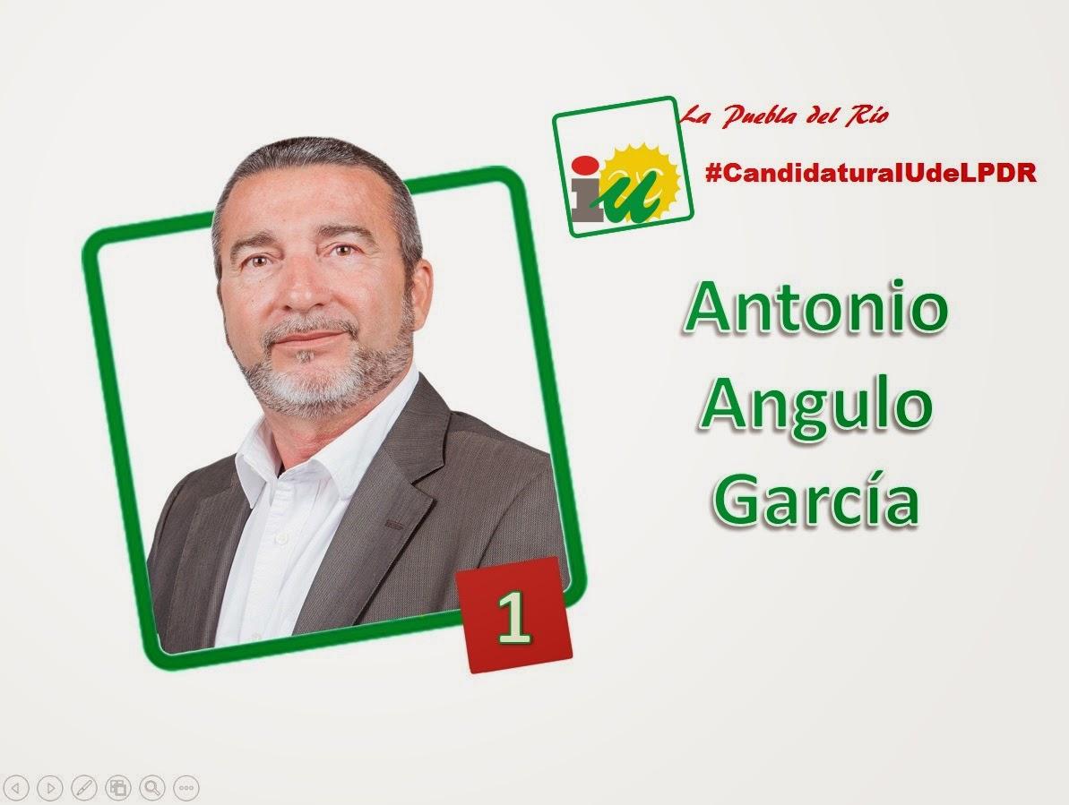 #CandidaturaIUdeLPDR Antonio Angulo